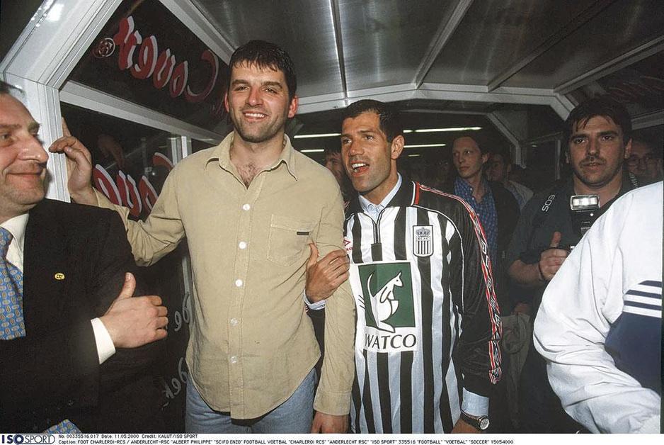 Toen Enzo Scifo aankwam in Charleroi: 'We waren zo euforisch dat we dronken leken'