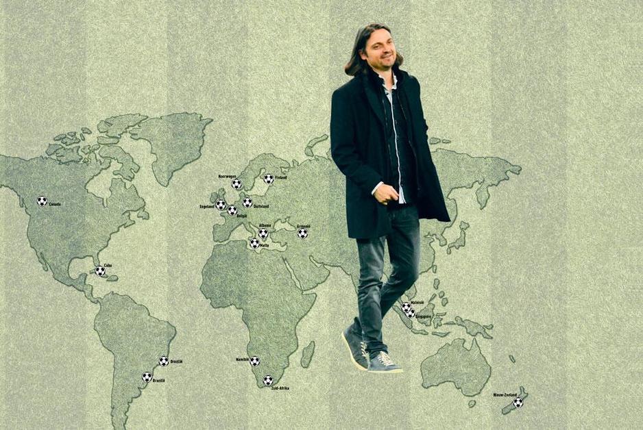 Lutz Pfannenstiel voetbalde op alle continenten: zijn wonderbaarlijke verhaal