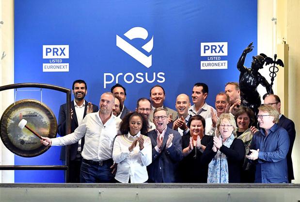 Prosus maakt spectaculair debuut op Euronext Amsterdam