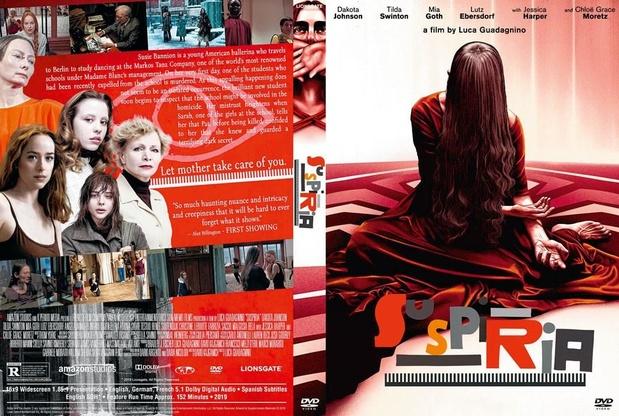 5x dvd Suspiria