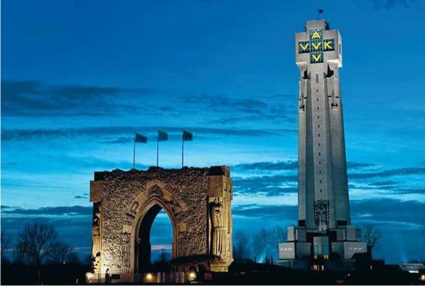 Les auteurs de l'attentat contre la Tour de l'Yser toujours inconnus 75 ans après