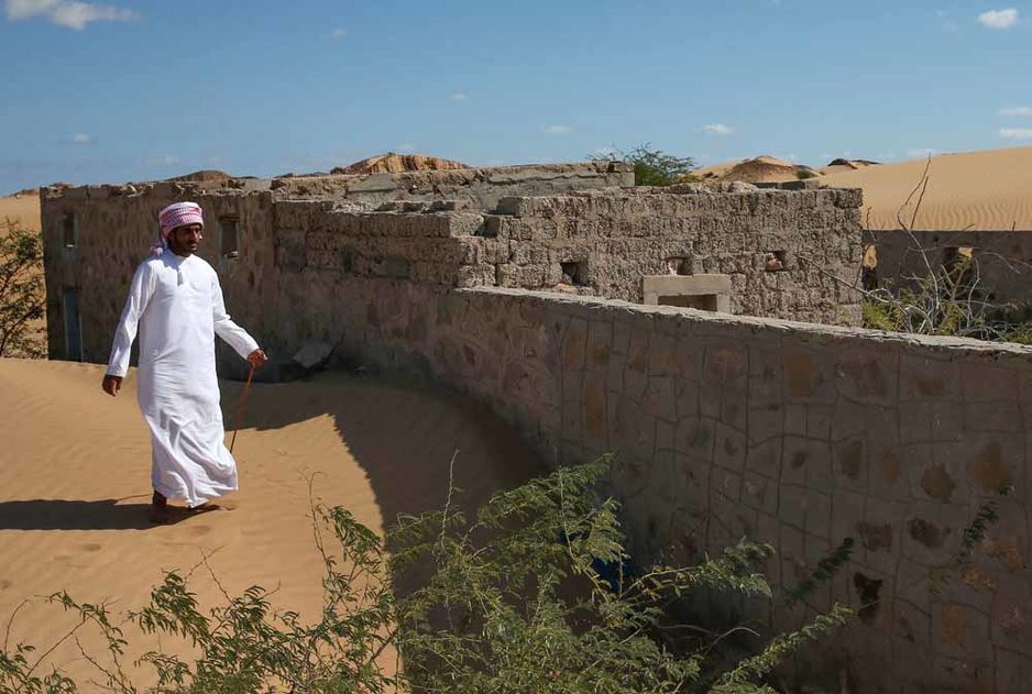 Wadi al-Murr, le village englouti par le désert