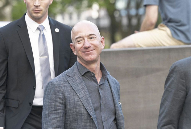 Bezos reste l'homme le plus riche du monde