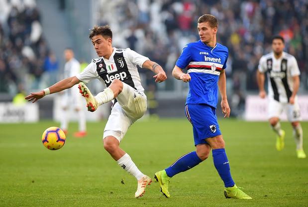 Praet régale contre la Juventus et s'offre la victoire avec la Sampdoria (vidéo)