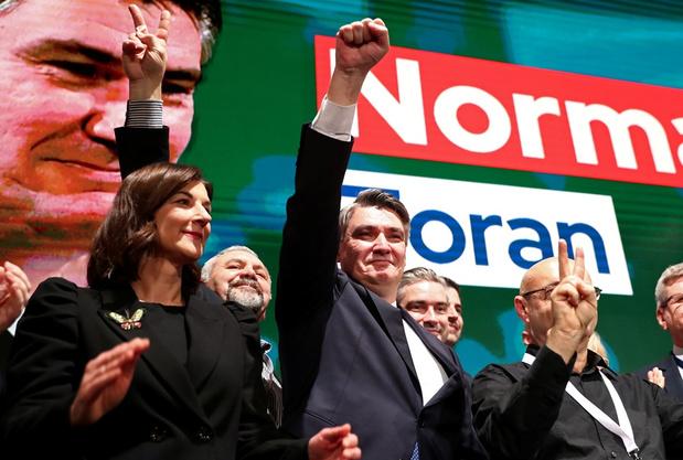 Kroatië: huidig president en ex-premier naar eindronde in presidentsverkiezingen