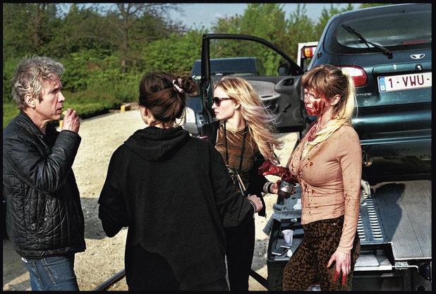 Op de set van de eerste Belgische zombiefilm: 'Bloed en kots zijn het lastigst'
