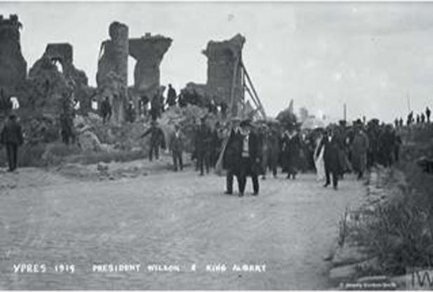 België bekaaid bedeeld Het Verdrag van Versailles 1919