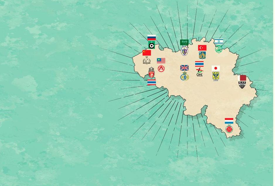Belgische profclubs in buitenlandse handen: de supermarkt van het voetbal uitgelegd