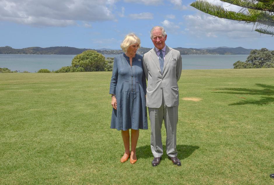 Le prince Charles et Camilla en Nouvelle-Zélande (en images)