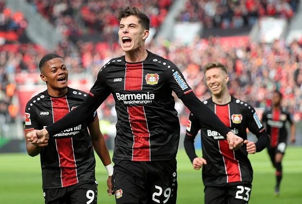 Le Bayer Leverkusen égale le record du nombre de buts inscrits en une mi-temps