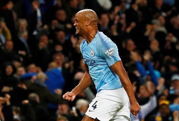 Le but de Kompany face à Leicester élu goal de la saison en Premier League (vidéo)