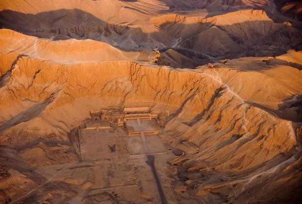 Oude ateliers en tombe ontdekt in Luxor in Egypte