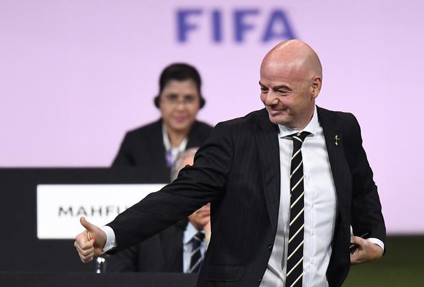 Infantino officiellement réélu à la FIFA