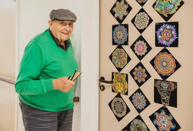 Kunstige Kuurnenaar Maurice Dhoop (95) overleden