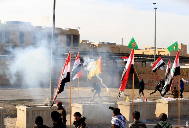 VS sturen 750 soldaten naar Irak na bestorming ambassade