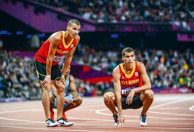 Vier broers Borlée sluiten hun eerste collectieve 4x400 meter al winnend af
