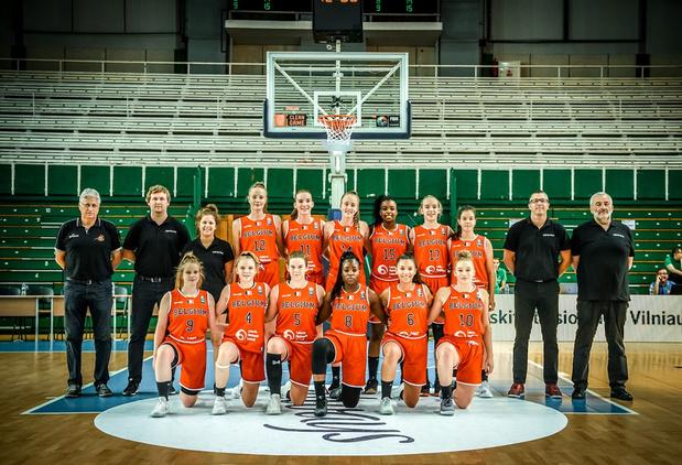 Kwartfinale is eindstation voor U16 basket op EK