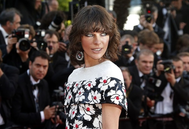 Milla Jovovich est enceinte pour la troisième fois