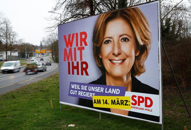 Inwoners van twee Duitse deelstaten trekken naar de stembus