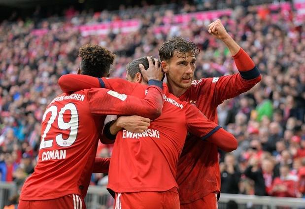 Le Bayern à 90 minutes d'un septième titre consécutif
