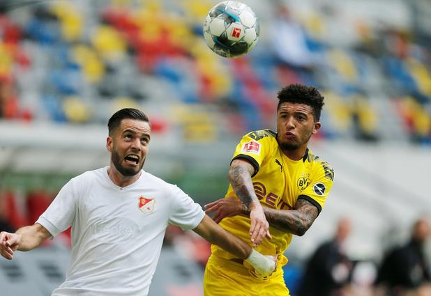 Jadon Sancho reste au Borussia Dortmund