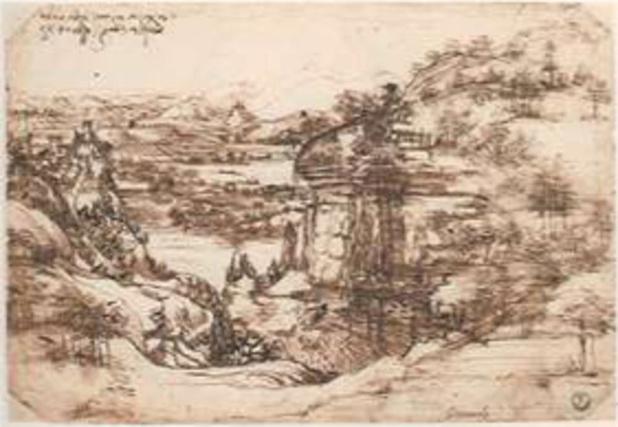 Da Vinci was tweehandig