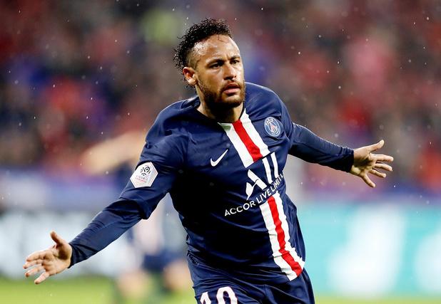 Le PSG, avec Meunier, s'impose à Lyon grâce à un nouveau but salvateur de Neymar