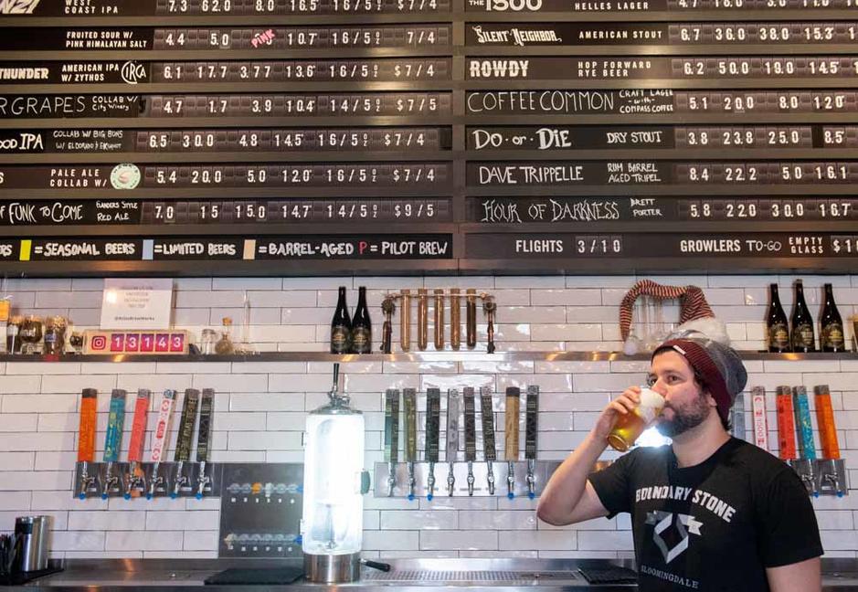 Aux Etats-Unis, les bières IPA se font mousser