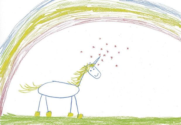 Dis, dessine-moi une licorne