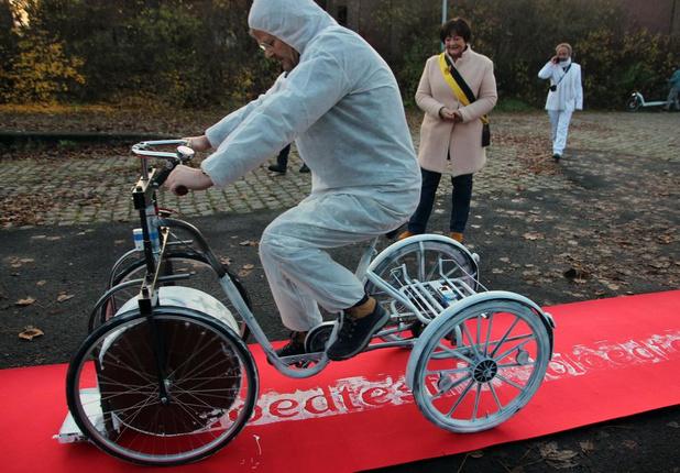 Bloedtestfietsers, met én zonder beperking, moet fietstocht noodgedwongen staken