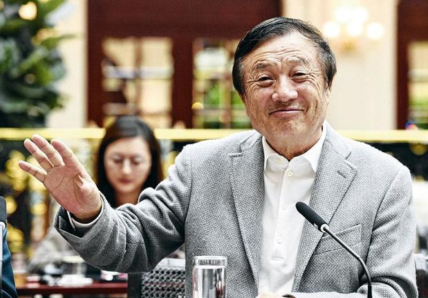 Le fondateur d'Huawei espère des assouplissements de la part de Biden