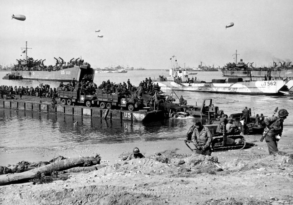 Débarquement allié du 6 juin 1944: retour en images sur une gigantesque opération militaire