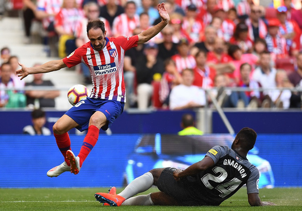 Juanfran quitte l'Atletico Madrid