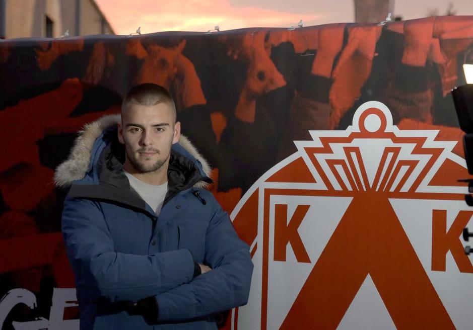 Adam Jakubech maakt zondag in Anderlecht zijn competitiedebuut voor KV Kortrijk