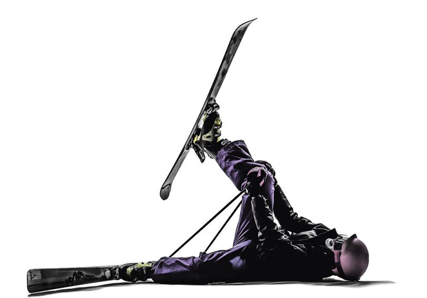 Skier après une blessure des ligaments croisés