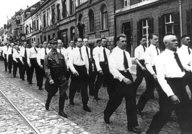 Les germanophones, les derniers Belgicains