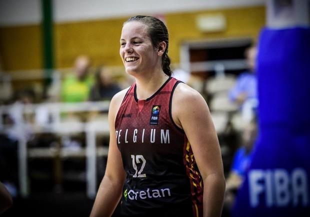 Vijfsterrenprestatie van Billie Massey op EK U20 basketbal