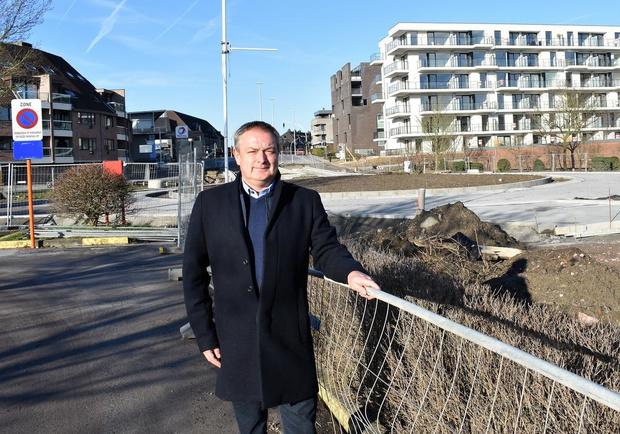 Nieuwe rotonde bijna open, werken in Zuiderlaan moeten in april helemaal afgerond zijn
