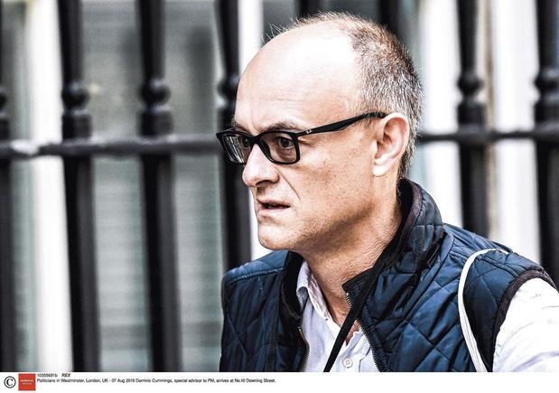 'Een brandstichter in Downing Street': speciaal adviseur Dominic Cummings mist zijn entree niet