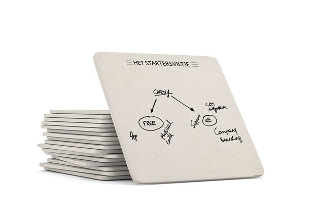 Visitekaartje met digitaal kantje