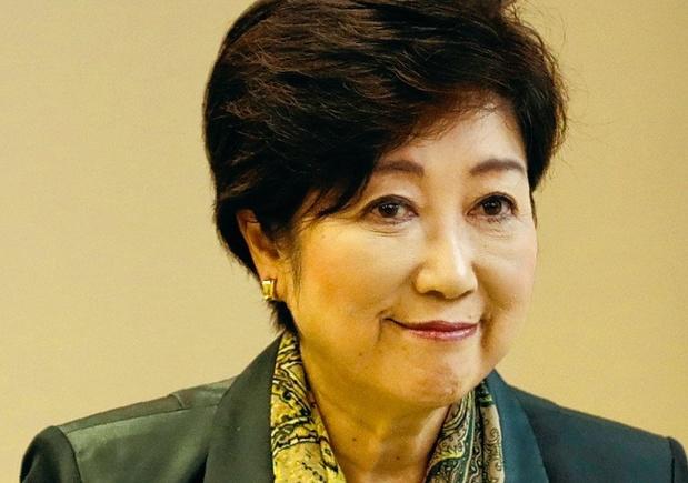 La gouverneure de Tokyo Yuriko Koike élue haut la main pour un second mandat