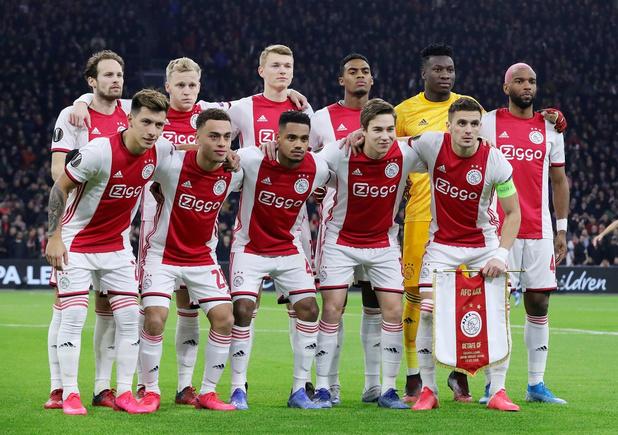 Plusieurs joueurs de l'Ajax testés positifs au coronavirus en juin