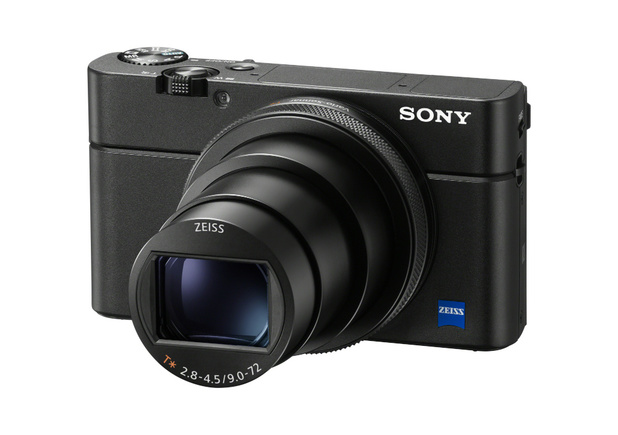 High-end compactcamera van Sony met microfoonaansluiting