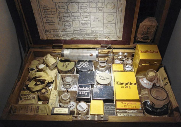 Les pharmaciens à l'épreuve de la Guerre 14-18