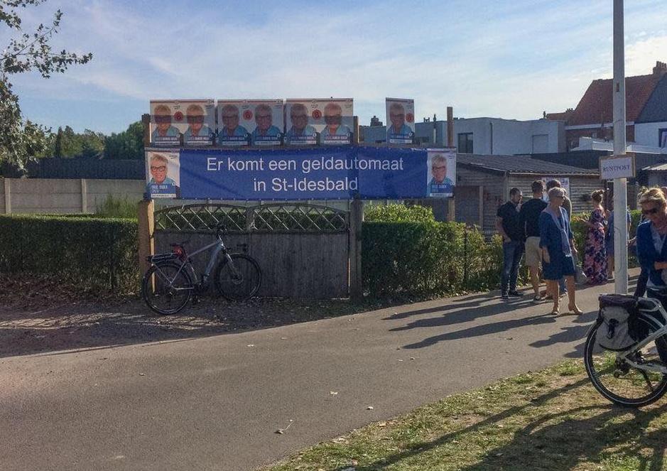 Sint-Idesbald krijgt opnieuw bankautomaat, Koksijde maakt 15.000 euro vrij