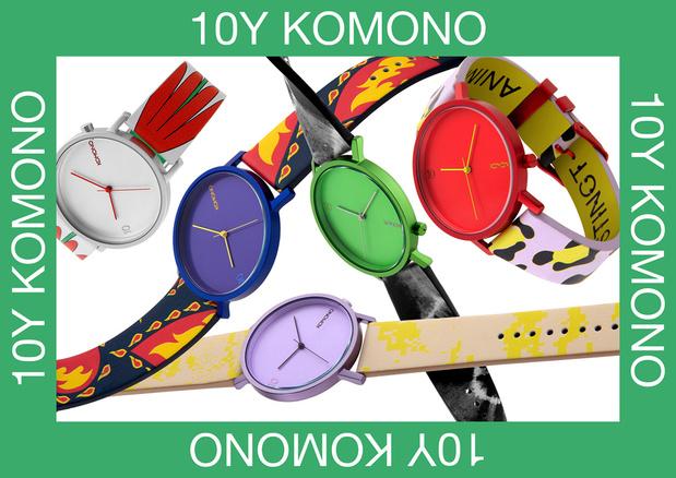 Komono viert tiende verjaardag met revival van begeerde klassieker