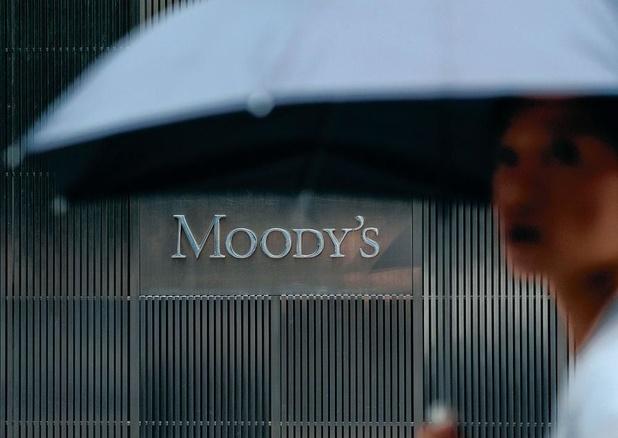 Moody's met le système bancaire belge sous perspectives négatives
