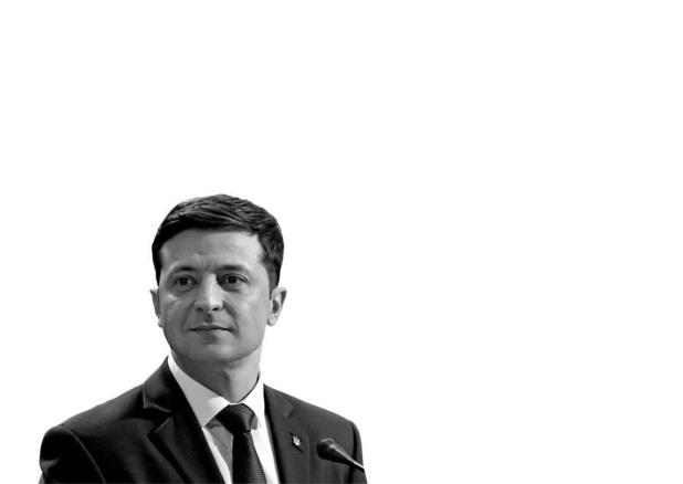 Volodymyr Zelenskyj - Oekraïense presidentskandidaat