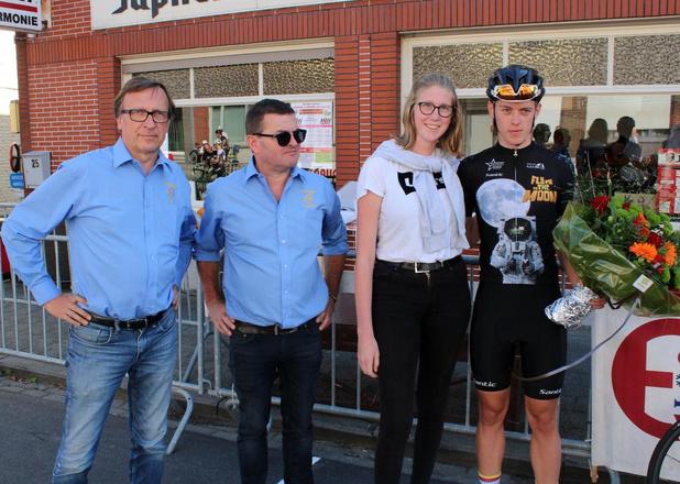 Juniores in Sint-Denijs: Nicolas Marthe snelste binnen kopgroep van vijf