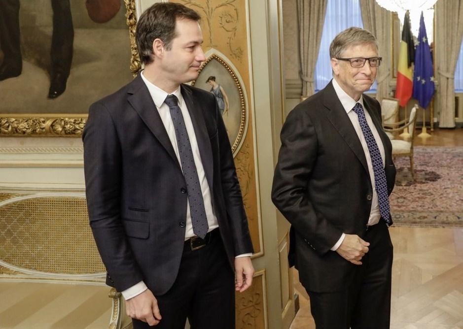 Factcheck: nee, Alexander De Croo zit niet in raad van bestuur Gates Foundation